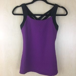 Lucy Athletic  Criss Cross Back  Tank Top